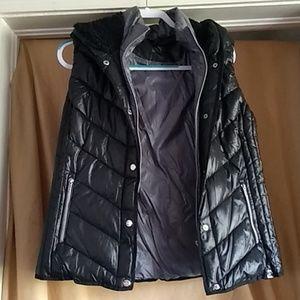 NWOT Marc New York Hooded Vest Size L
